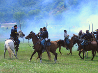 Civil War Re-Enactment in Boscobel, WI